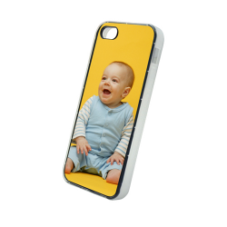 Etui na iPhone 5/5S Białe Gumowe