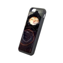 Etui na iPhone 6/6S Czarne Gumowe