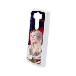Etui na LG G3  białe plastikowe