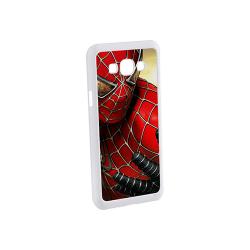 Etui na Samsung Galaxy A8 białe plastikowe