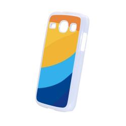 Etui na Samsung Galaxy Core I8262 białe, plastikowe