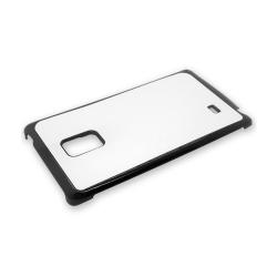 Etui na Samsung Galaxy Note Edge czarne plastikowe