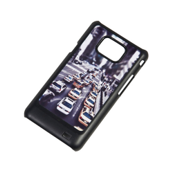 Etui na Samsung i9100 Galaxy S2 Czarne Plastikowe