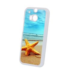 Etui na HTC M8 białe, plastikowe