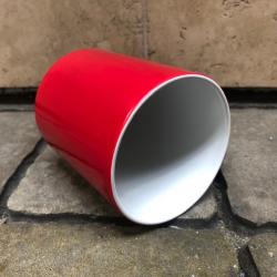 Czerwony magiczny kubek z własnym nadrukiem