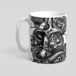 Dagger And Snake - Kubek ceramiczny 330ml