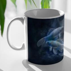 Kubek - Znak zodiaku - Ryby - personalizowany